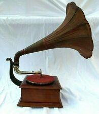 "Gramophone  "" PATHE  DIAMOND  "" Gramophone à Pavillon - 1930"