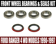 Ford Ranger 4WD Front Wheel Bearings & Seals Set 1990-1997
