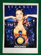 (PCA76) Pubblicità Advertising Ads Werbung ROCHAS BYZANCE PROFUMO PARFUM