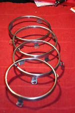 67-68-69-70 roadrunner/charger/coronet/superbee CLEANED headlight ring set of 4
