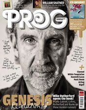 Prog ISSUE 43, Genesis,Mike Rutherford,William Shatner,Rush,Peter Hammill SEALED