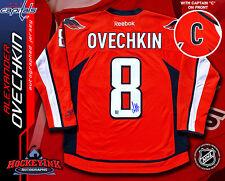 ALEX OVECHKIN Signed Washington Capitals Red Reebok Jersey