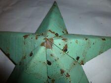 Rustic Genuine USA Amish Quality Primitive Tin 42 inch Barn Star Light Green