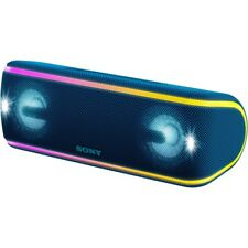 Sony SRS-XB41 MP3 Bluetooth Speaker With NFC/ Lights Blue