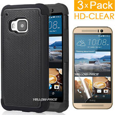 HTC ONE M9 | Heavy Duty Rugged Armor [Defender Dual] Case w/ Screen Protection