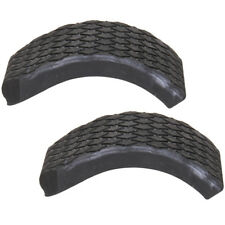Pro-Jump Bolt On Rubber Sole (Pair) Powerbock Grippy Feet Soles 4 Holes Spares