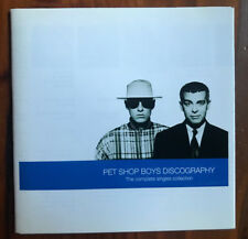 PET SHOP BOYS - DISCOGRAPHY - COMPLETE SINGLES COLLECTION - CD - 1991