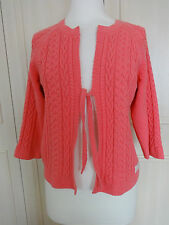 Odd Molly Vivid Pink Cotton Cardi - Sz 2 10/12