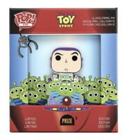 Pixar Toy Story Buzz & Alien Collector Box Pop Funko Loungefly Pin Disney LE New