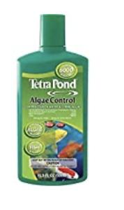 Tetra Pond Algae Control 16.9oz Controls Green Water + String Algae In Pond -NEW