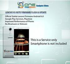 Lenovo K5 Smartphone l'installazione del Firmware Note, Servizio di aggiornamento