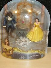 New Disney Beauty and the Beast Enchanted Rose Scene Doll/Figurine Set New