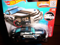 CHEVROLET CAMARO SS POLICE 2010 - HOT WHEELS - SCALA 1/55