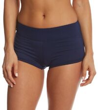 TYR 148494 Women's Solid Della Swim Shorts Sporty cut Blue Size Large
