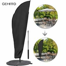 GEMITTO Parasol Cover,3M Large Parasol Umbrella Cover Weatherproof Outdoor Umbre