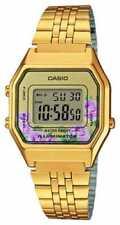 Relojes de pulsera baterías Colecc. y compil. de acero inoxidable dorado