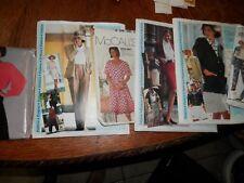 Lot of Uncut 1980's, 1990's Patterns, Jackets, etc.