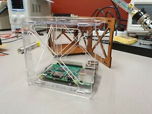 Cubesat satellite test frame arduino raspberry pi mounts