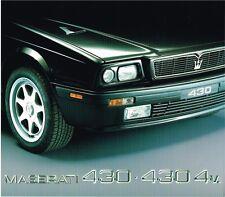 Maserati 430 / 430 4V Prospekt, 1992