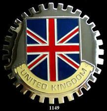 UNITED KINGDOM FLAG CAR GRILLE BADGE EMBLEM -  BRITISH UNION JACK FLAG