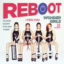 WONDER GIRLS [REBOOT] 3rd Album CD+68p Photobook K-POP SEALED
