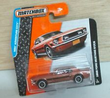 Matchbox: Ford Mustang GT/CS 1968 in OVP