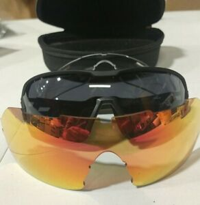 Scott spur multi interchangeable sunglasses with 3 lens