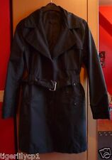 Zwarte Trenchcoat Jas van S. Oliver Maat 38-40