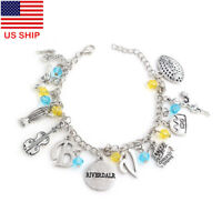 US! RIVERDALE Pendant Charm Bracelet Inspired All logos Necklace Jewelry Gifts