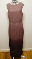 WITCHERY DRESS OMBRE MULTI PRINT MAXI DRESS, Sz 14