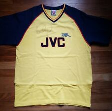 Ian Wright Autographed Jersey, JVC Arsenal Throwback Uniform, Premier League