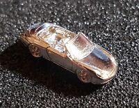 PORSCHE PIN 911 Cabrio modello 3D ARGENTO BRILLANTE 27x11mm (6)