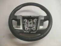 2009 Ford Flex Leather & Wood Steering Wheel w/Audio & Cruise Control OEM LKQ