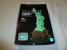 NEW IN BOX NANOBLOCK STATUE OF LIBERTY KAWADA JAPAN NBM-003 650+ PCS BLOCK SET >