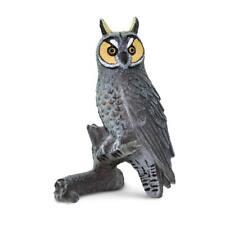 Long Eared Owl replica ~ Safari Ltd #100093 Wings of the World toy bird figure