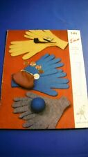 Emu Family Gloves Knitting Pattern 2493