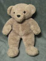 "Vintage 14"" Plush Commonwealth 1985 Brown Teddy Bear STUFFED ANIMAL LOVEY TOY"