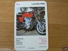 EASY RIDER 6A LAVERDA 1000 KWARTET KAART, QUARTETT CARD,SPIELKARTE