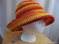 Betmar Women's Woven Sun Hat - Bright Colors - Beach Hat