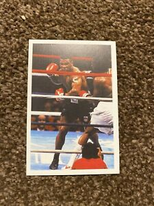 1987 Mike Tyson ROOKIE Card A Question Of Sport - Excellent Condition