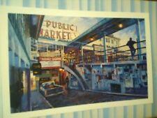 BEAUTIFUL POST CARD  POST ALLEY & PIKES MARKET  SEATTLE WASHINGTON