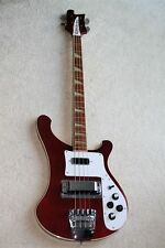 1982 Rickenbacker 4003 Bass Guitar Burgundyglo - Rare Color