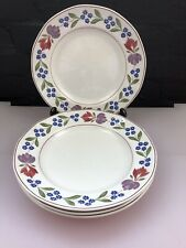 """4 x Adams Old Colonial Dinner Plates 10.25"""" Set"""