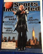 Jason Kidd Signed Sports Illustrated Magazine Autographed