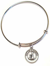 First Communion Bangle Bracelet, First Communion Charm, Confirmation Gift