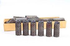 Konvolut über 30 Stück alte Messer Klingen für Spitzmaschine Anspitzer FTE ASW