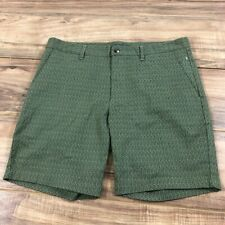 Slate & Stone Novelty Ross Printed Shorts in Sage