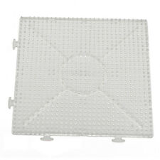 4pcs ABC Clear 145x145mm Square Large Pegboards Board for Hama Fuse Perler K1P6