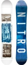 Nitro Team Exposure Mens Snowboard 157 cm True Camber New