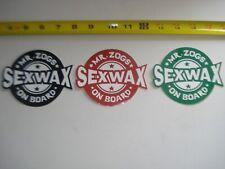 SEX WAX STICKER PACK 3 UNITS